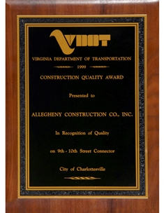 Construction Quality Award